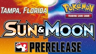 Pokémon Sun & Moon Prerelease Pack Opening! | Tampa, Florida by The Pokémon Evolutionaries