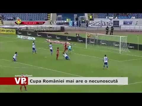 Cupa României mai are o necunoscută