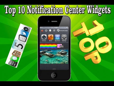 notification - This video will show you my Top 10 iOS 5 Notification Center Widgets. 1. BBSettings for Notification Center 2. OmniStat for Notification Center 3. SBSettings...