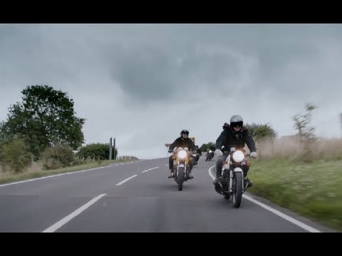 0 Becks and Bikes: David Beckham and Mates Go for a Ride in Belstaff Promo [Video]