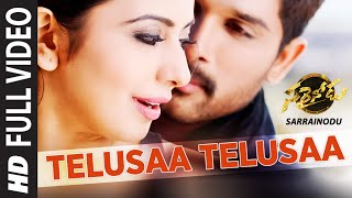 Nonton Telusaa Telusaa Full Video Song    Film Subtitle Indonesia Streaming Movie Download