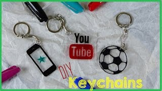 DIY Crafts: How To Make A Keychain - YouTube