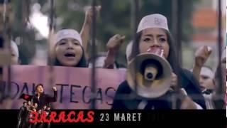 Trailer FILM BARACAS (BARISAN ANTI CINTA ASMARA) 23 MARET 2017 DIBISKOP
