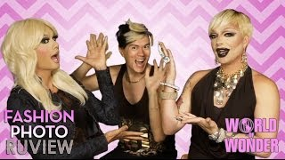 RuPaul's Drag Race Fashion Photo RuView with Raja & Raven feat Manila Luzon - Social Media Ep 10