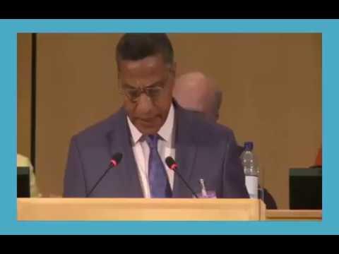 كلمة رئيس الوفد العمالي المغربي الأخ الميلودي المخارق بالدورة 106 لمؤتمر العمل الدولي بجنيف 2017