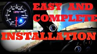 Download Lagu how to install a turbo boost gauge or vacuum gauge Mp3