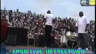AKON LIVE IN FREETOWN  PART 1