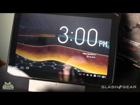 Motorola DROID XYBOARD HD Dock Hands-on Review