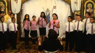 St.Anthony Coptic Orthodox Church, Medfoed, Nj Children Of God Choir Easter 2014 The Feast