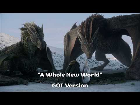 Magic Dragons Ride -  Game of Thrones '' A Whole New World ''
