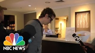Video Convicted Sex Offender Brock Turner And His Parents Enter Hotel | NBC News MP3, 3GP, MP4, WEBM, AVI, FLV November 2017