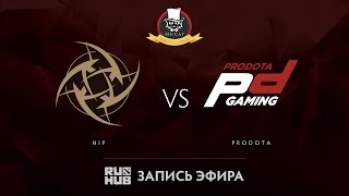 NiP vs Prodota, Mr.Cat Invitational, game 1 [Adekvat]