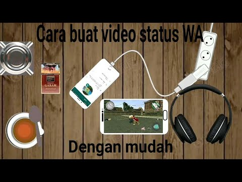 CARA BUAT VIDEO KLIP WA