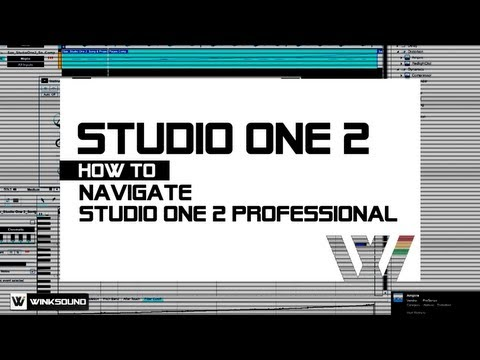 PreSonus Studio One 2: Overview Of PreSonus Studio One 2 Professional | WinkSound
