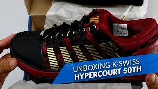video Unboxing K-Swiss Hypercourt 50th