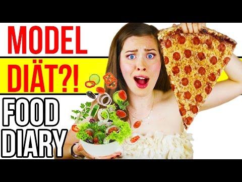 MODEL DIÄT?! WAS ICH WIRKLICH ESSE... FOOD DIARY   MEINE ERNÄHRUNG   Deutsch 2016   Kim Lianne