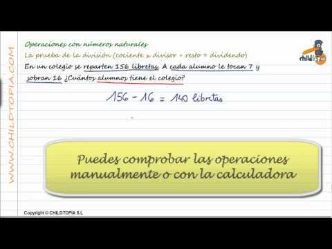 Vídeos Educativos.,Vídeos:Prueba de la división 9