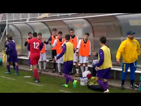 Under 16, 8^ Giornata Parma-Fiorentina, fair play allenatori prima della gara