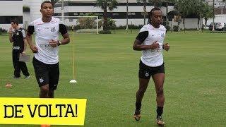 Após 15 dias de recesso, o elenco do Santos FC se reapresentou na tarde desta segunda-feira (16), no CT Rei Pelé. Na volta...
