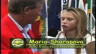 Aqui vemos a la hermosa Maria a los 13 años de edad. No olviden suscribirse a TennisRFMexico, las mejores noticias sobre el deporte blanco