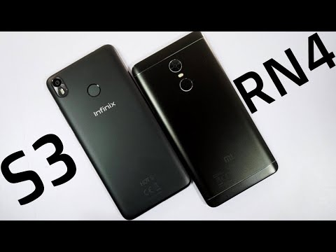 infinix Hot S3 Vs Redmi Note 4 Speed Test, Memory Management test and Benchmark Scores