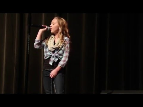 "Abby Mundy singing ""Rolling in the Deep"" by Adele for Clarkston Idol"