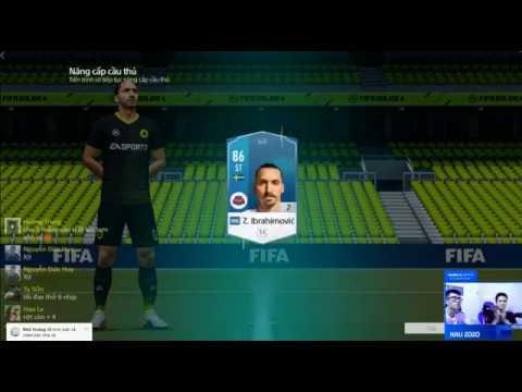 Hau Zozo hóa vàng Ibrahimovic đầu tiền trong FIFA Online 4 - Thời lượng: 55 giây.