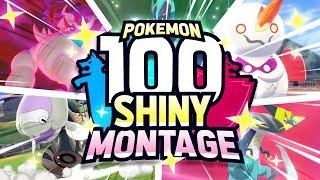 100 EPIC SHINY POKEMON REACTIONS! Pokemon Sword and Shield Shiny Montage by aDrive