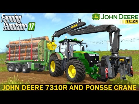 Ponsse Mounted Crane for Tractors v1.3
