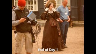 Cranford, filmed in Lacock, Wiltshire.  Day 1 and 2