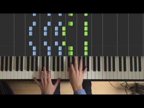 видео игры на фортепиано - Something just like this