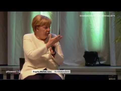 37. Deutscher Evangelischer Kirchentag: Reden u.a. von Merkel und Johnson-Sirleaf am 22.06.19