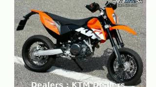 1. 2008 KTM SMC 690  Features Info
