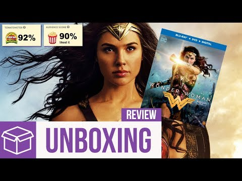 Wonder Woman Blu Ray Unboxing + Review (Digital HD Giveaway)