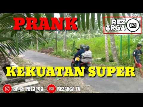 PRANK | KEKUATAN SUPER | Prank Indonesia | Rezarga Tv