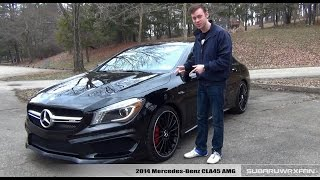 Review: 2014 Mercedes-Benz CLA45 AMG