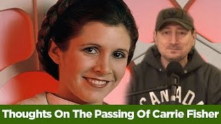 Thoughts On The Passing Of Carrie Fisher - Editorial by Collider