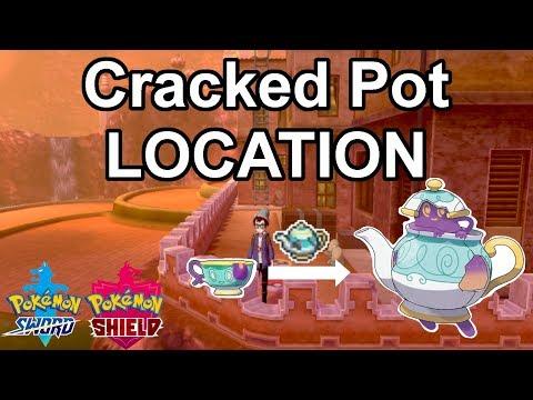Cracked Pot Location - Pokemon Sword/Shield