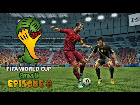 FIFA World Cup 2014: Episode 8 - THE FINAL - PORTUGAL V BELGIUM! (PES 2013)
