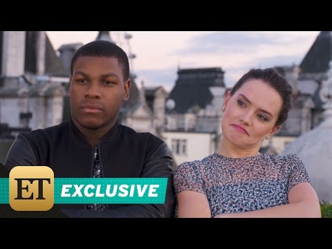 Daisy Ridley and John Boyega Perform an Original Rap Song About Filming Star Wars The Force