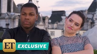 EXCLUSIVE: Daisy Ridley Rapping Is the Greatest 'Star Wars: The Force Awakens' Bonus Feature Yet! - YouTube