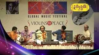 Dr. L. Subramaniam And His Son Ambi Subramaniam's Violin Performance 01