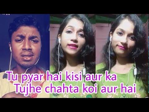 Video Tu pyar hai kisi aur ka. Smule duet. My cover 198. download in MP3, 3GP, MP4, WEBM, AVI, FLV January 2017