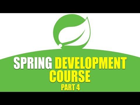 Spring Development Course   Bean Defined Constructors   Part 4   Eduonix