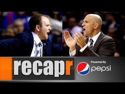 Video: Recapr - Jason Kidd dumps drink...then dumps Lawrence Frank
