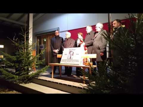 Ehrung für Hans Beimler in Waldthurn, 1. Dezember 2016