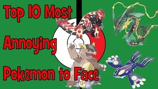 For whatever reason people seem to like my videos where I get annoyed. Well, this video was pretty fun to make, as these Pokemon REALLY used to annoy me back when I battled on the PSS, and it was nice to get to rant about them. Obviously this is based on my own personal opinions, but I'm sure some of you will have similar grievances. If you feel I left something off, let me know. I'd be pretty happy to make a follow up based on your suggestions!