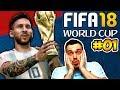 FIFA 18 Dünya Kupası Modu / Messi Kariyerine Dünya Kupası Ekleyebilecek mi ? / Bölüm 1