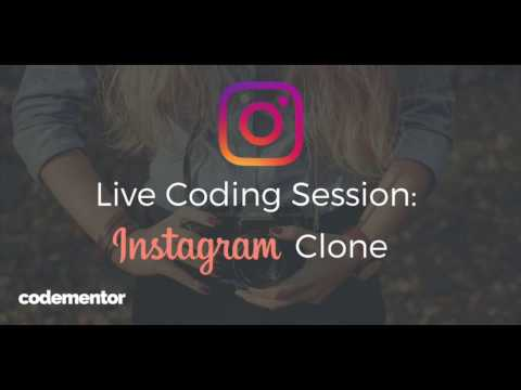 Live Coding an Instagram Clone From Scratch
