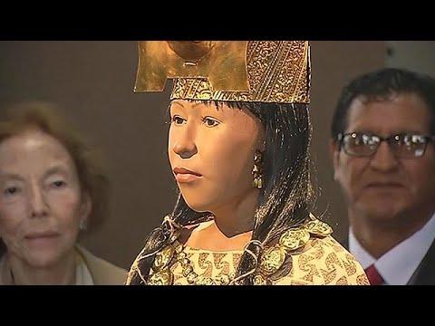 Αυτό ήταν το πρόσωπο της ιέρειας του αρχαίου Περού